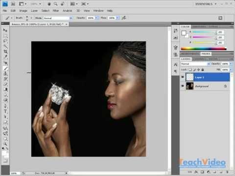 Эффект блеска в Photoshop