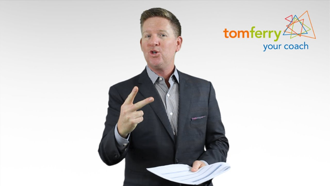 Youtube tom ferry business plan