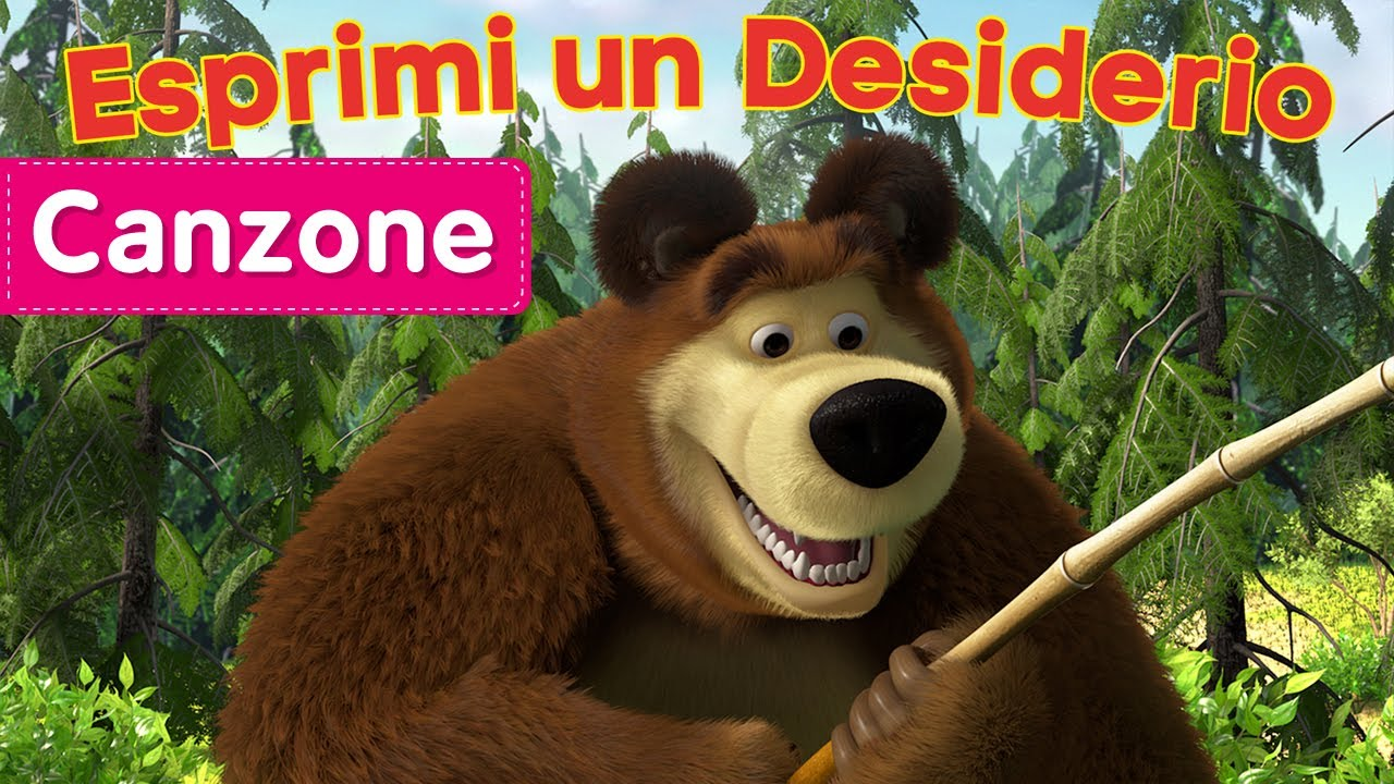 Una nuova avventura inizia con la foresta di masha e orso