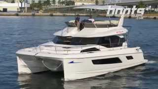 Aquila 44 Power Catamaran Running Shots