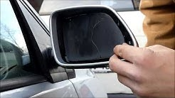 VW Polo 9N  --  Spiegelglas wechseln