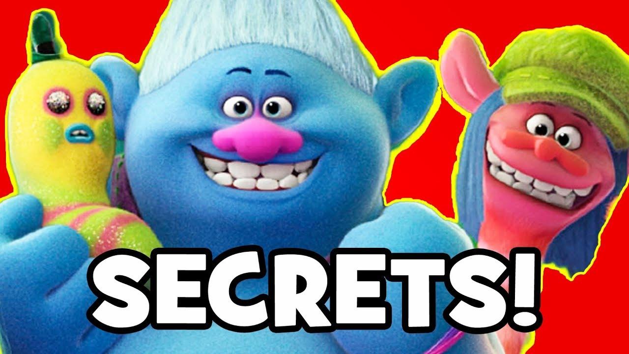 Trolls SECRETS EASTER EGGS DreamWorks Animation YouTube - 24 disney movies secrets