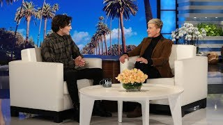 Timothée Chalamet Managed to Keep His Love for 'The Office' Hidden from Steve Carell