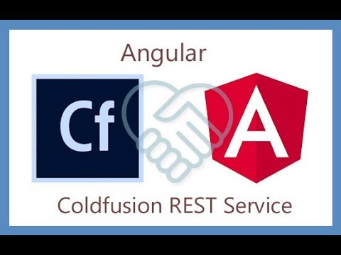 A simple app using Angular and Coldfusion REST API