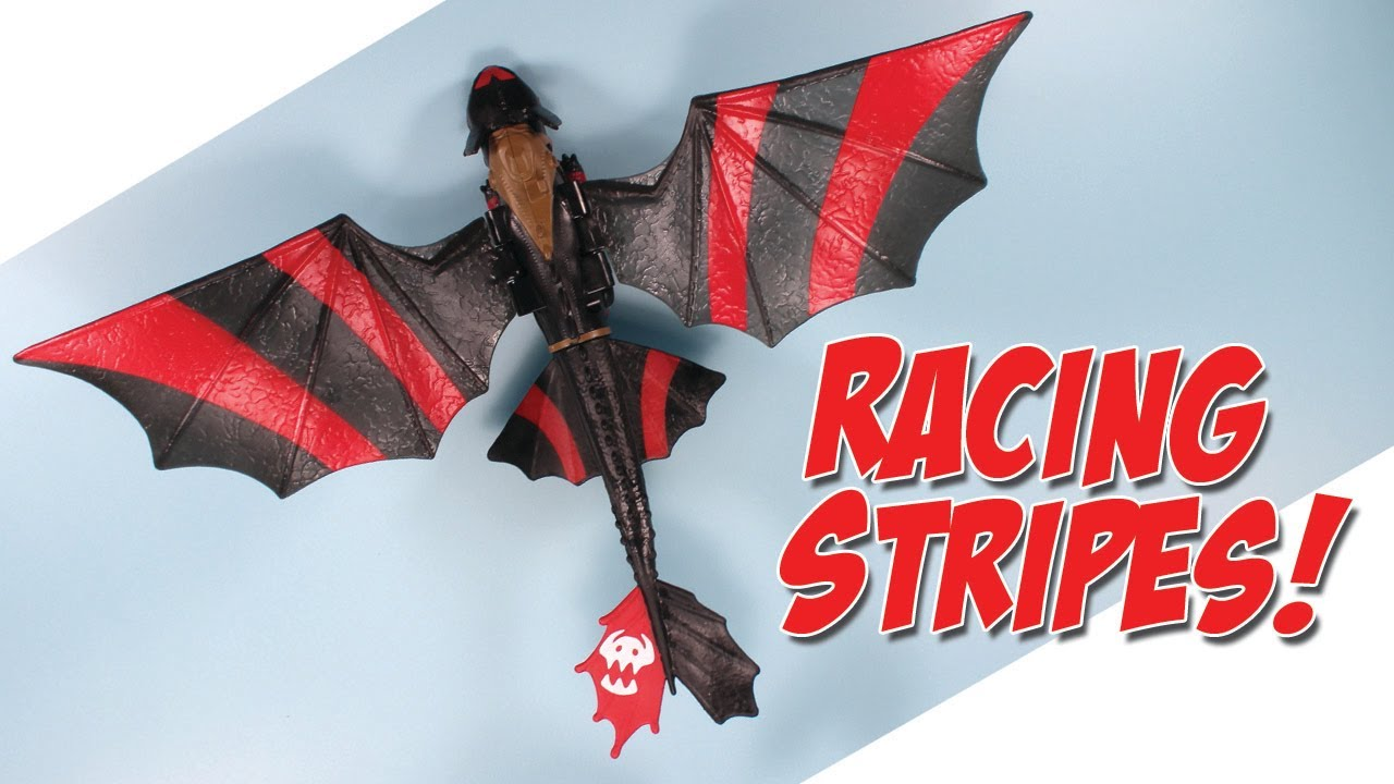how to train your dragon 2 toothless racing stripes power