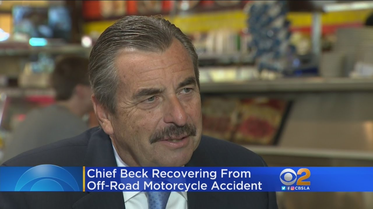 Download LAPD Chief Beck Explains His Love For Motocross