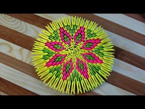#домавместе с Модульным Оригами Время Пролетит Незаметно и Увлекательно. Поделка 3 в 1 Из Бумаги