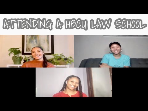 SHOULD YOU ATTEND A HBCU FOR LAW SCHOOL| INTERVIEW WITH 2 FUTURE HOWARD LAW STUDENTS