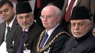 Inauguration de la mosquée Baitul Ikram - Leicester , Royaume Uni