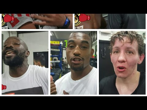 Part 2) Mayweather boxing gym Mega reaction to Andre Ward stopping Kovalev
