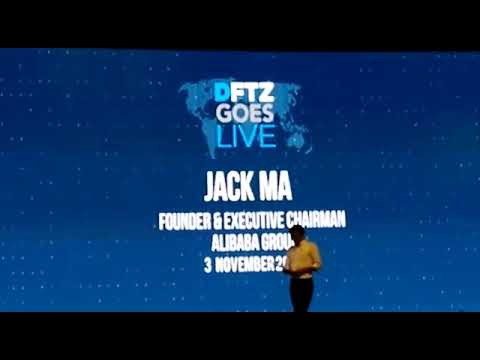 DFTZ goes Live Malaysia Jack Ma Speech- Your Space