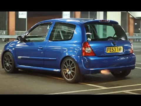 renault clio sport 172 cup launch control youtube. Black Bedroom Furniture Sets. Home Design Ideas