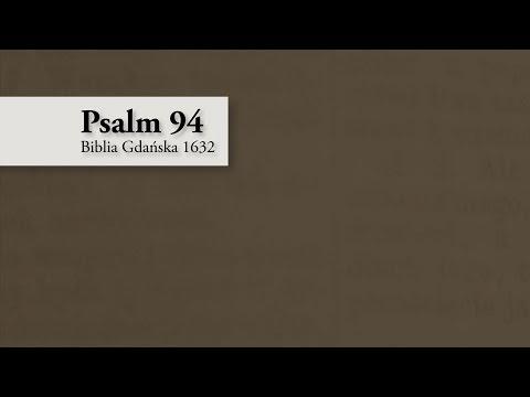 Psalm 94 – Biblia Gdańska 1632