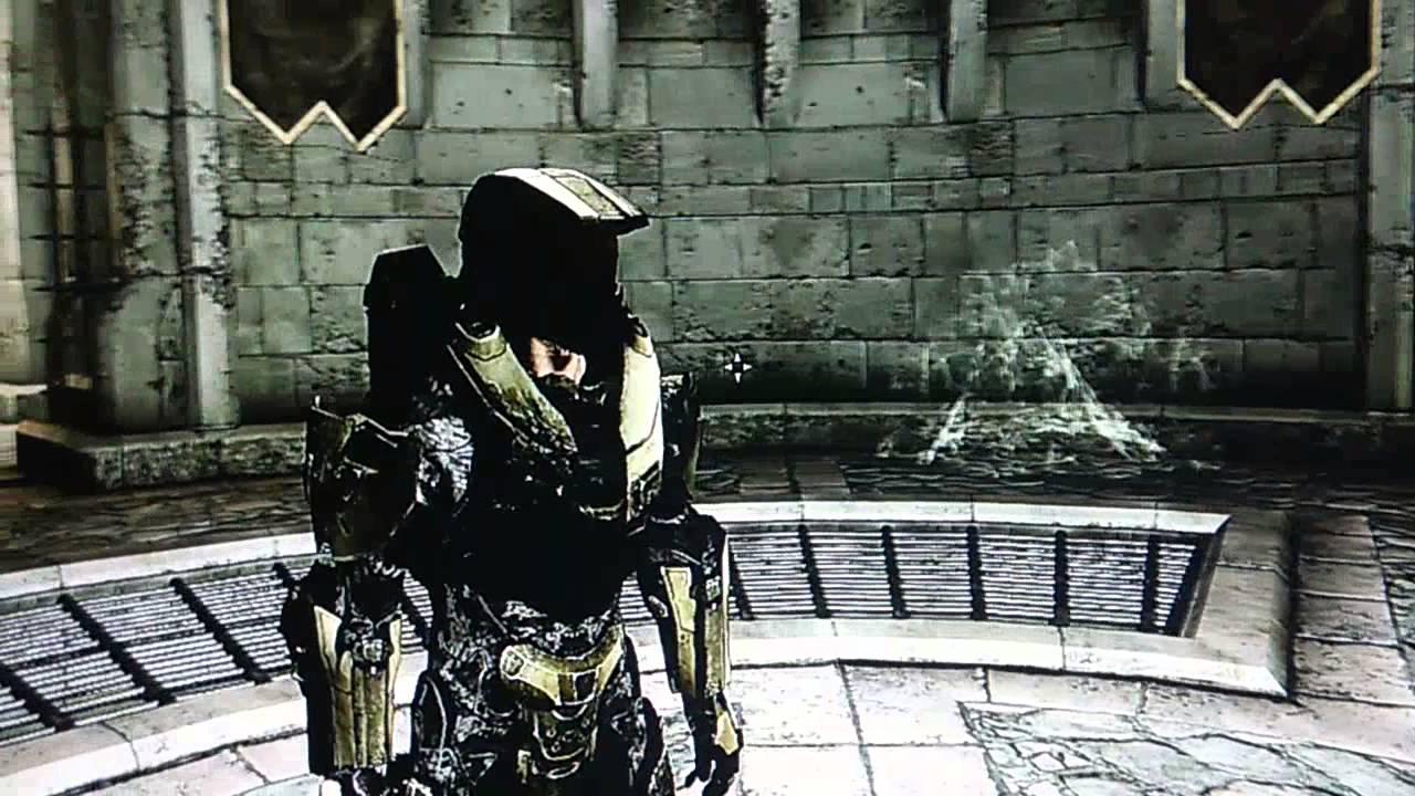 Skyrim Mods Xbox 360 Halo 4 Master Chief Armor YouTube
