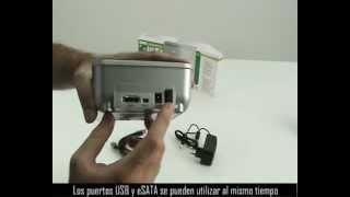 Base DOCK para Discos Serial ATA USB+eSATA. DA 70542-1