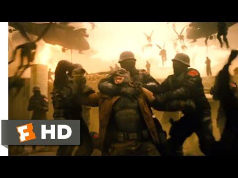 Batman v Superman: Dawn of Justice (2016) - The Knightmare Scene (1/10)   Movieclips