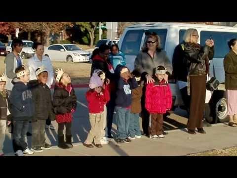 Santa comes to River Trails Elementary School