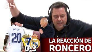 CÁDIZ 0- REAL MADRID 3 | La reacción de RONCERO y su parábola de ZIDANE y VINICIUS | AS