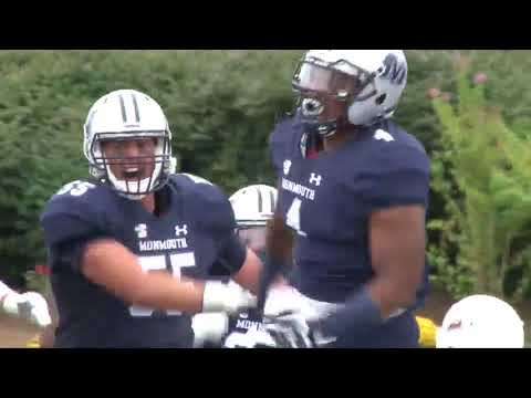 Monmouth Football Highlights vs Lafayette