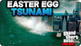 GTA 5 ONLINE 1.24/1.26 - NUEVO EASTER EGG TSUNAMI EN LOS SANTOS - GTA V ONLINE 1.24/1.26