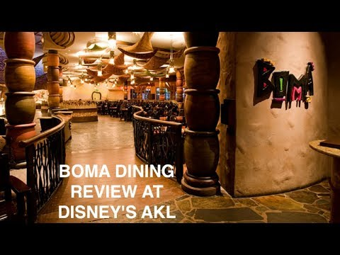 DINING REVIEW: Boma at Disney's Animal Kingdom Lodge