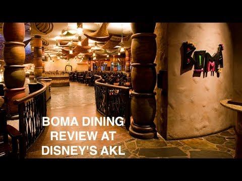 DINING REVIEW: Boma At Disney's Animal Kingdom Lodge