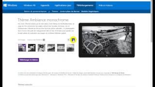 موقع تحميل ثيمات ويندوز 7 Les thèmes Windows fonctionnent uniquement dans Windows 7