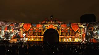 Фестиваль света в СПб на Дворцовой 4 и 5 ноября 2017. Часть 1