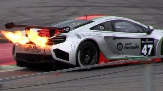 The Ultimate Flame Thrower: The McLaren MP4-12C GT3