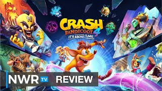 Crash Bandicoot 4: It's About Time (Switch) Review (Video Game Video Review)