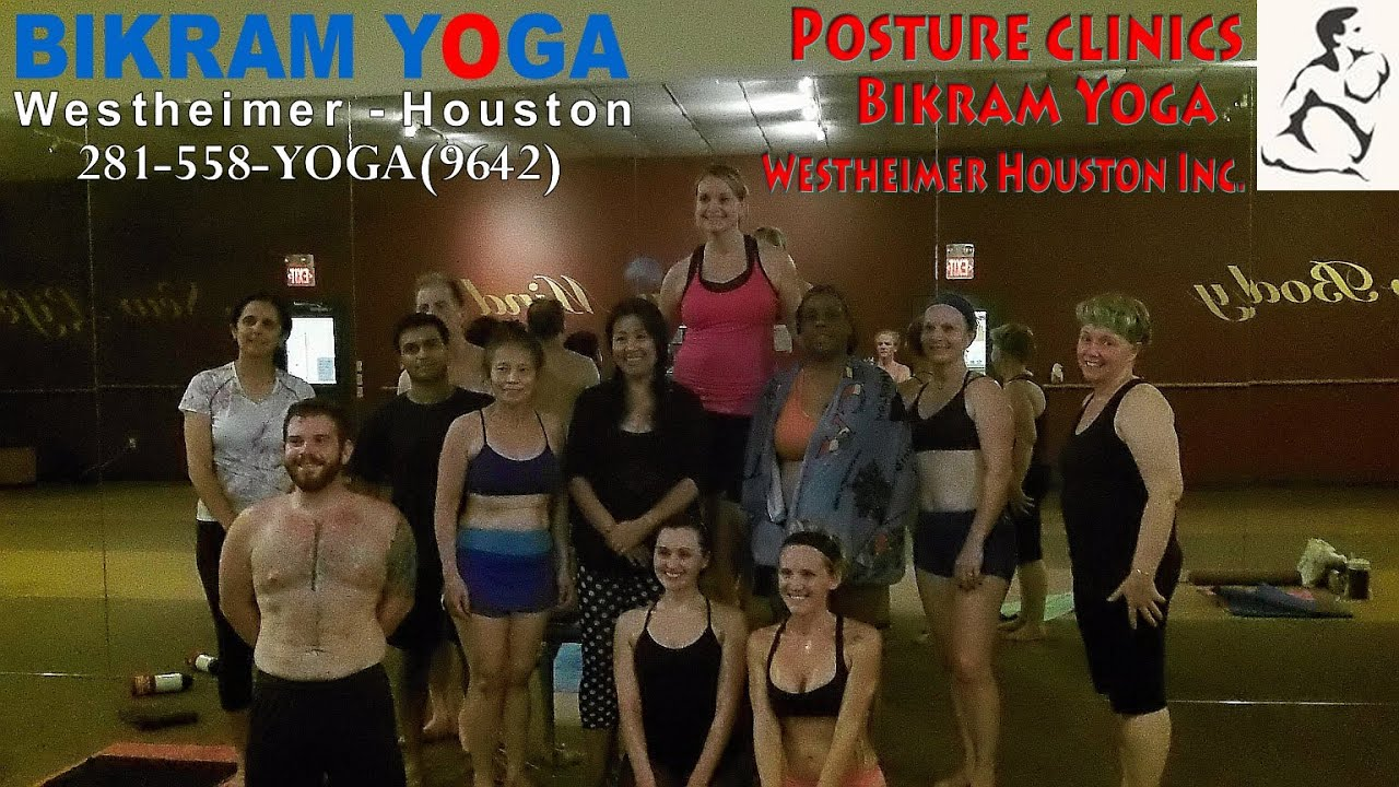 Bikram Yoga Westheimer Houston Texas Hot Yoga Posture Clinic Youtube