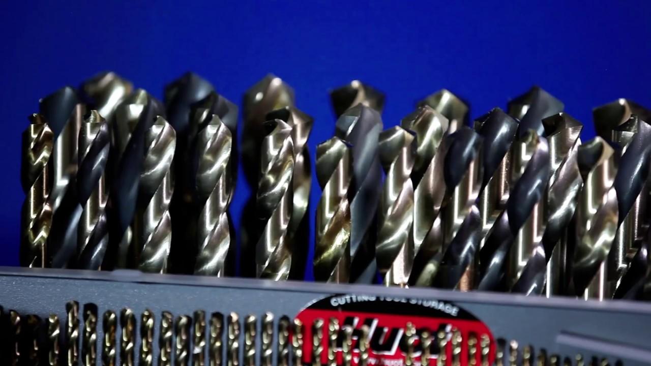 "Stub Cobalt Screw Machine 12 Pieces Lgth Drill #50 - USA- 135° Pt .0700/"""