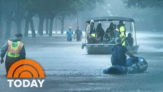 Hurricane Harvey Devastates Houston As Donald Trump Heads To Texas; At Least 3 Dead | TODAY