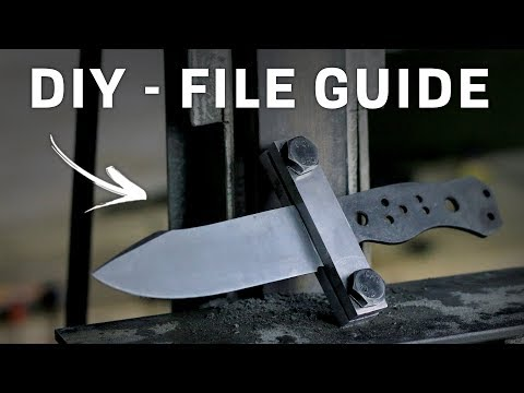 FILE GUIDE! - Knife Making