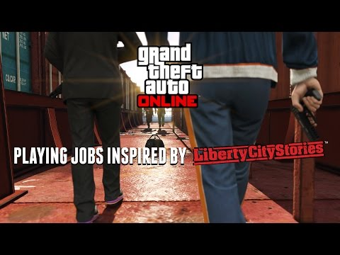 Player-Created Jobs Inspired by Grand Theft Auto: Liberty City Stories (GTA Online Livestream)
