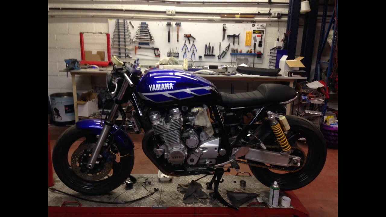 How To Build A Cafe Racer Start Finish Yamaha Xjr 1300 By Sspirit