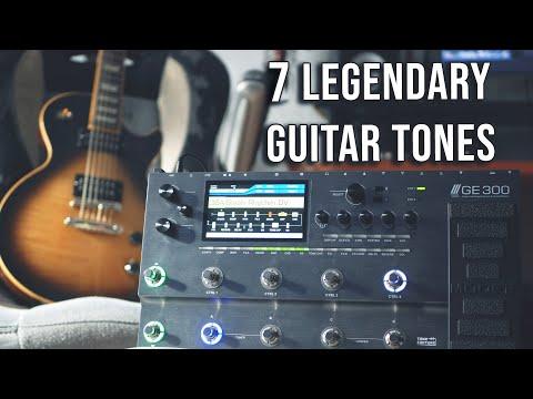 7 Legendary Guitar Tones With Mooer GE300 (Ft. Luca Milieri)