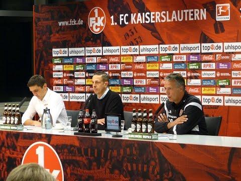 6. Spieltag | FCK - SGD | Pressekonferenz nach dem Spiel