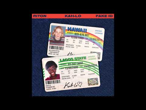 Riton & Kah - Lo - Fake ID [Official Audio]