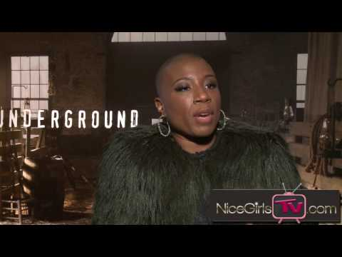 Aisha Hinds answers what resistance means to Harriet Tubman & Anthony Hemingway addresses the idea