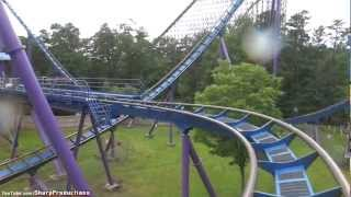Bizarro (On-Ride) Six Flags Great Adventure