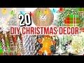 20 DIY CHRISTMAS DECOR IDEAS! Cheap & Easy Christmas Decor!