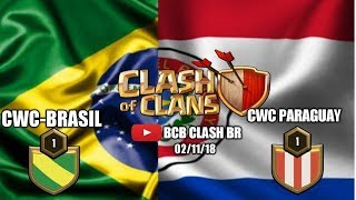 ⭕Amistosa Brasil Vs Paraguay CLASH OF CLANS/ FRIENDLY WARS... CLASH BR/CLASH AMERICA #CocBr