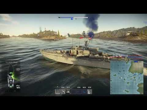 War Thunder Naval Forces Jan 9th testing. (small bug in game causes constant explosions. sorry )