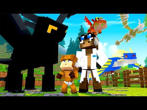 Minecraft Daycare  HOW TO TRAIN YOUR DRAGON! MINECRAFT ROLEPLAY