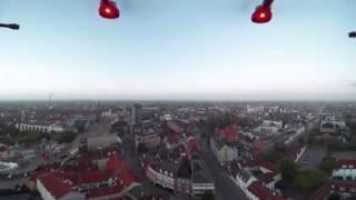 360 VR video above Odense