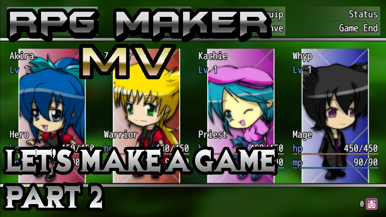 RPG Maker MV: Welcome to Lag Town! Home of Many Stuffs! (Let's ...