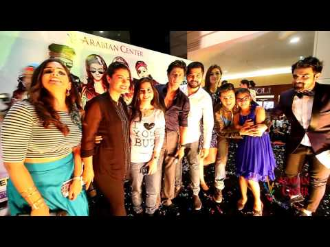 Dilwale Star Cast Visits Arabian Center