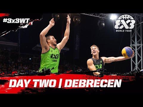 RE-LIVE - FIBA 3x3 World Tour 2018 - Debrecen Masters | Day Two