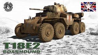 "War Thunder: T18E2 ""Boarhound"", American, Tier-2, Light Tank/Armored Car"